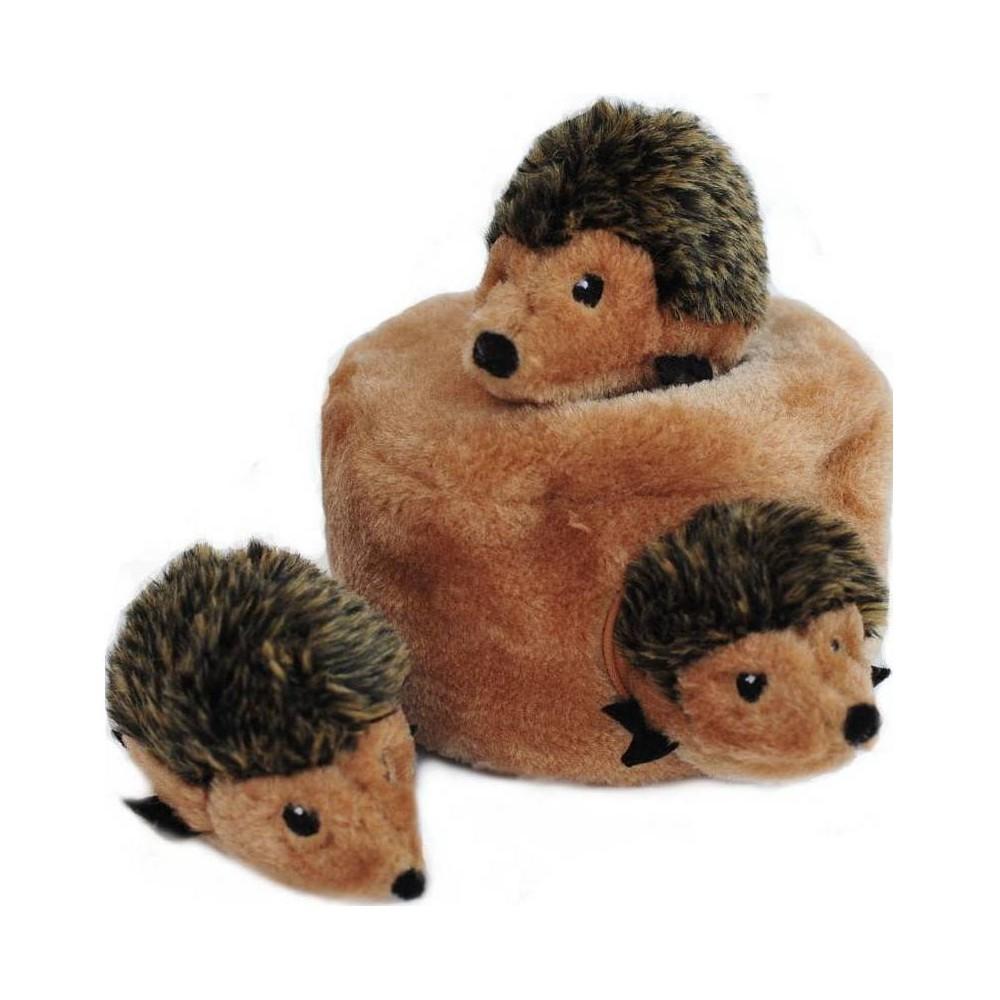 Zippypaws Burrow Hedgehog Den Dog Toy