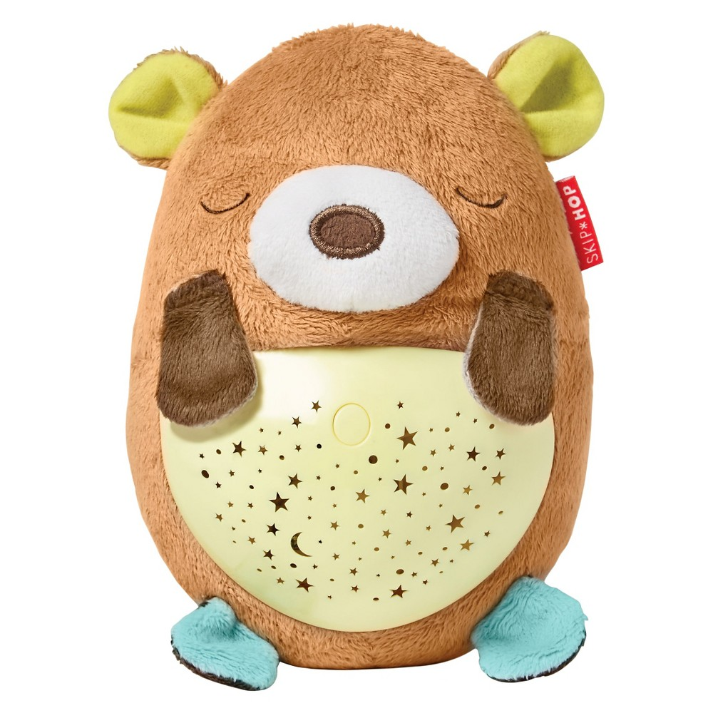 Skip Hop Moonlight Melodies Hug Me Projection Soother - Bear, Multi-Colored