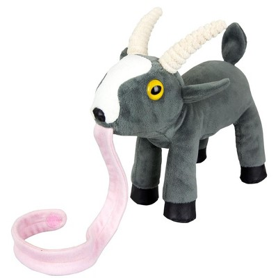 """Mighty Fine Goat Simulator 10"""" Plush with Stick-On Tongue"""