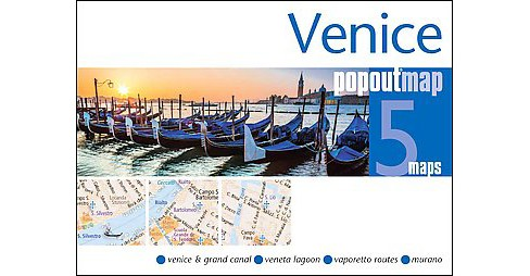 Venice Popout Map (Revised) (Paperback) - image 1 of 1