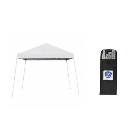 Z-Shade 10' x 10' Canopy Tent + Z-Shade Canopy Tent 4 Pack Stake Kit w/ Case - image 1 of 4