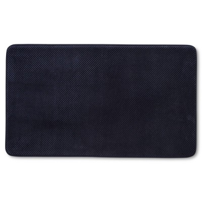 20  x 34  Bubble Memory Foam Bath Rug Xavier Navy - Threshold™