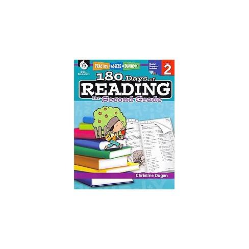180 Days Of Reading For Second Grade Paperback Christine Dugan