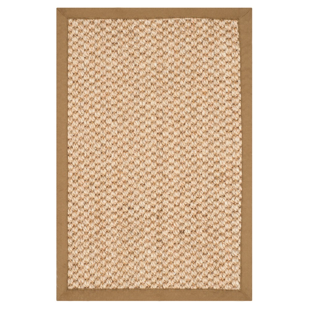 Carson Natural Fiber Accent Rug - Natural (3' X 5') - Safavieh