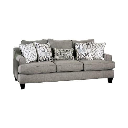 Stayton T Cushion Sofa Bluish Gray Mibasics