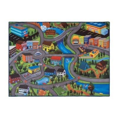 "Gertmenian City Roads 40""x54"" Game Rug"