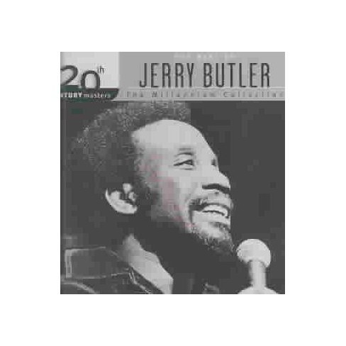 Jerry Butler - 20th Century Masters - The Millennium Collection: The Best of Jerry Butler (CD) - image 1 of 2