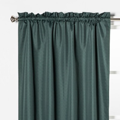 84 x42  Braxton Blackout Window Curtain Panel Pine Green - Eclipse™