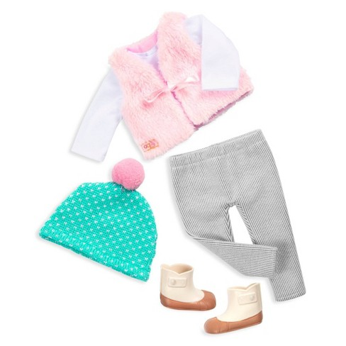 """Our Generation Regular Winter Outfit for 18"""" Dolls - Fuzzy Feelings - image 1 of 3"""