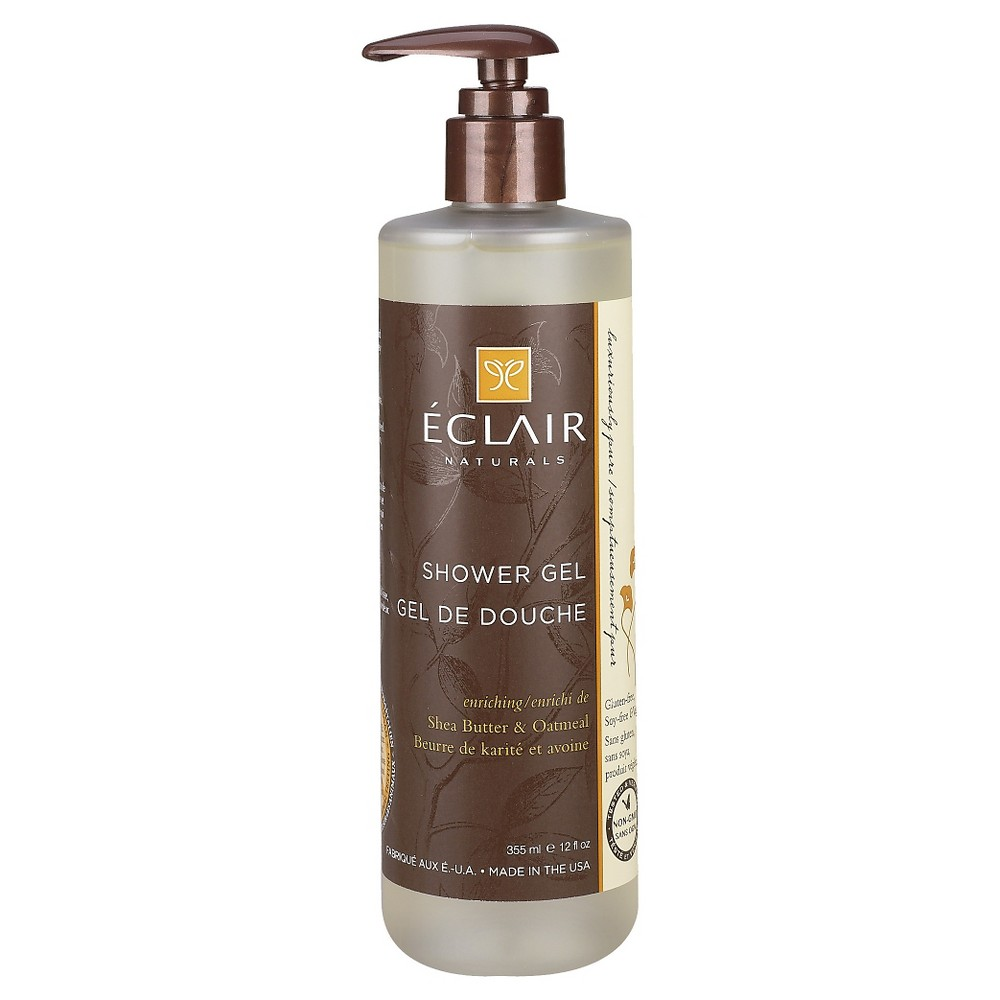 Image of Eclair Naturals Shea Butter & Oatmeal Shower Gel - 12oz