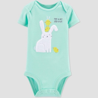 Baby 'Eggcited' Bodysuit - Just One You® made by carter's Blue Newborn