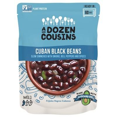 A Dozen Cousins Cuban Black Beans - 10oz