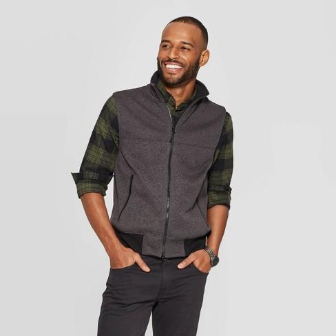 Men's Regular Fit Sweater Fleece Vest - Goodfellow & Co™ - image 1 of 3