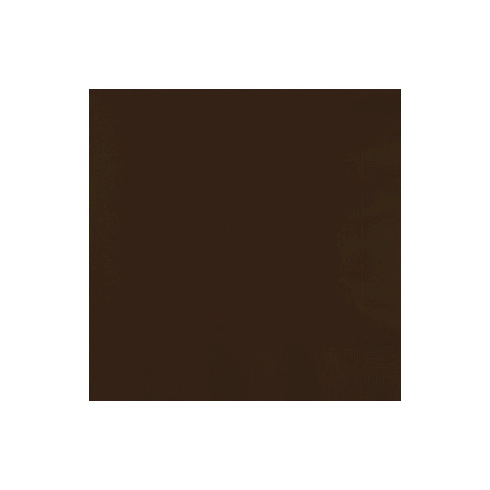 50ct Chocolate Brown Disposable Napkins