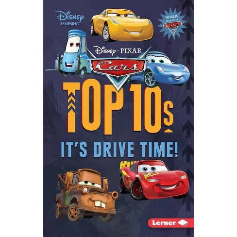 Cars Top 10s - (My Top 10 Disney) by  Mary Lindeen (Paperback) - image 1 of 1