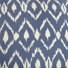"""18""""x18"""" Ikat Square Throw Pillow Cover Blue - Rizzy Home - image 4 of 4"""