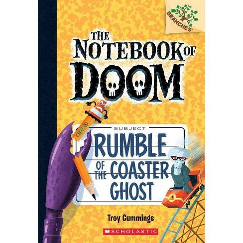 Rumble of the Coaster Ghost: A Branches Book (the Notebook of Doom #9), Volume 9 - by  Troy Cummings - image 1 of 1