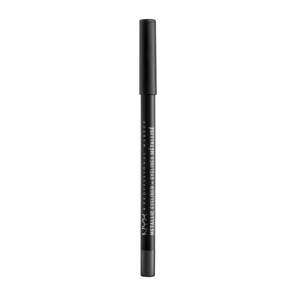 NYX Professional Makeup Metallic Eyeliner Gunmetal - 0.05oz