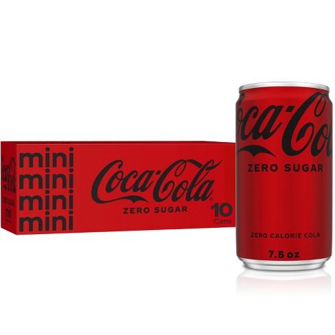 Coca-Cola Zero Sugar - 10pk/7.5 fl oz Mini-Cans - image 1 of 4