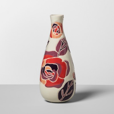 Earthenware Floral Vase - Opalhouse™
