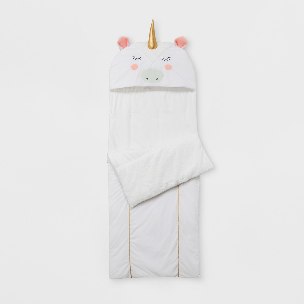 Unicorn Convertible Sleeping Bag - Pillowfort, White