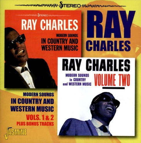Ray Charles - Modern Sounds In Country:Vols 1 & 2 (CD) - image 1 of 2