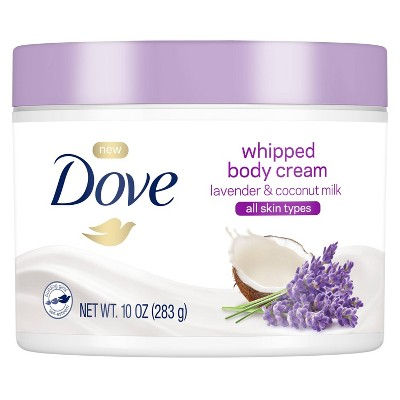 Body Lotions: Dove Whipped Body Cream