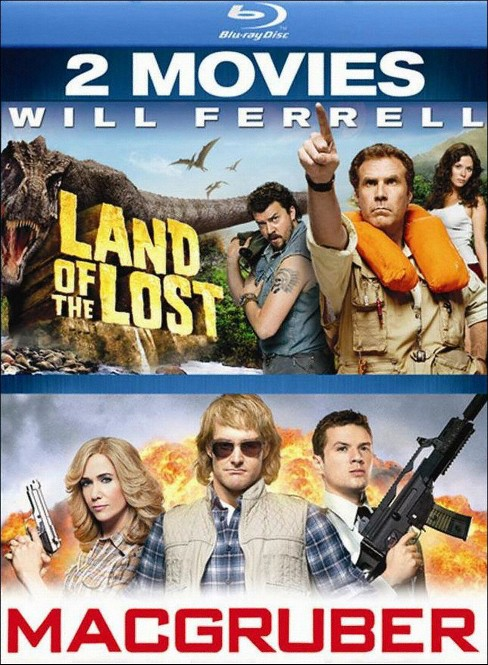 Land of the lost/Macgruber (Blu-ray) - image 1 of 1