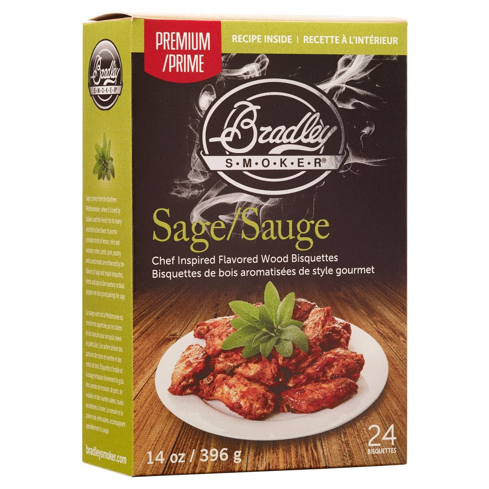 Sage & Maple Bisquettes 24 Pack – Bradley Smoker 52163939
