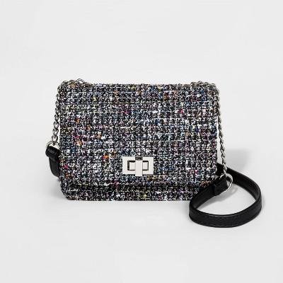 Girls' Twill Crossbody Bag   Art Class™ by Art Class