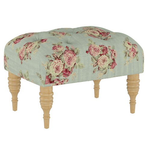 Tufted Ottoman - Simply Shabby Chic® - image 1 of 4
