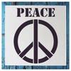 """Stencil1® Peace Sign - Stencil 5.75"""" x 6"""" - image 3 of 3"""