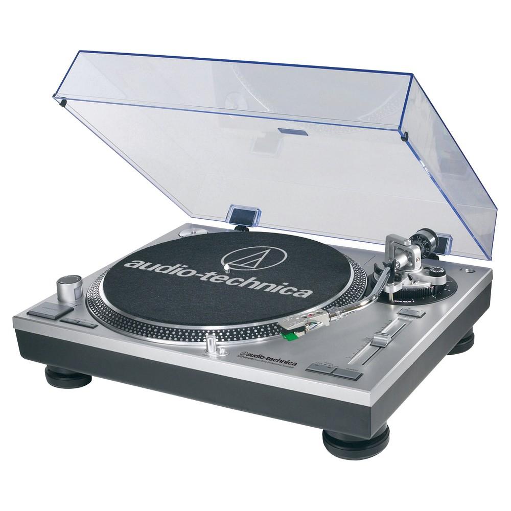 Audio Technica ATLP120USB Direct Drive Professional Usb Turntable - Silver