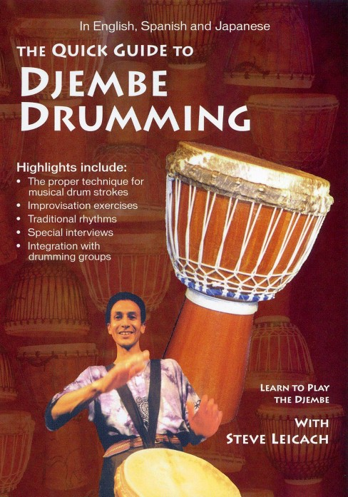 Quick guide to djembe drumming (DVD) - image 1 of 1