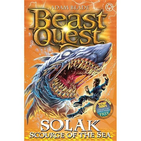 Beast Quest: 67: Solak Scourge of the Sea - by  Adam Blade (Paperback) - image 1 of 1