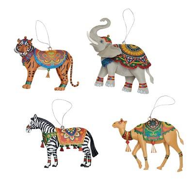 Gallerie II Boho Circus Animal Ornament A/4
