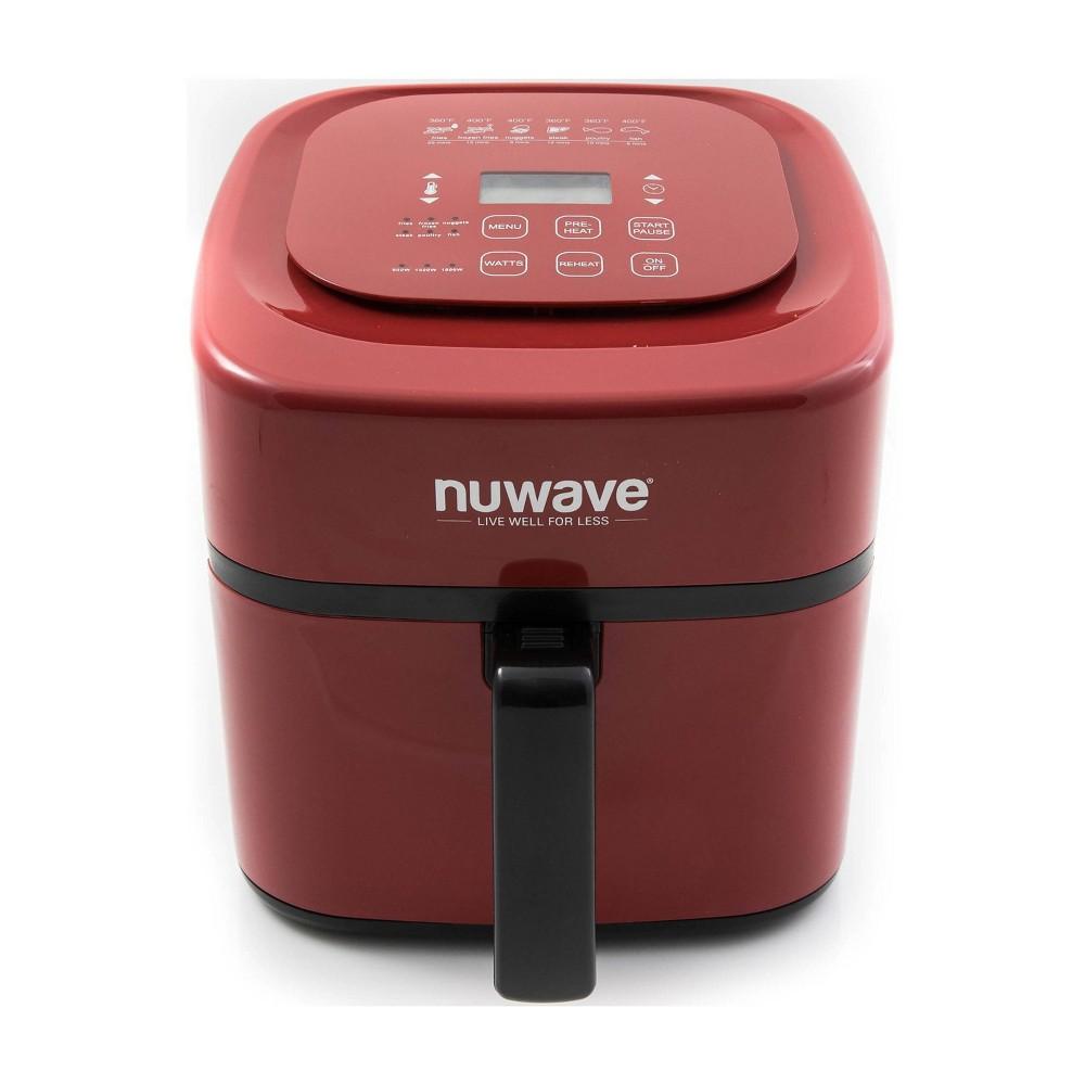 Image of NuWave 6qt Digital Air Fryer - Red
