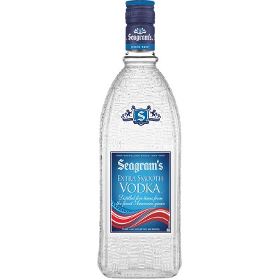 Seagram's Extra Smooth Vodka - 750ml Bottle