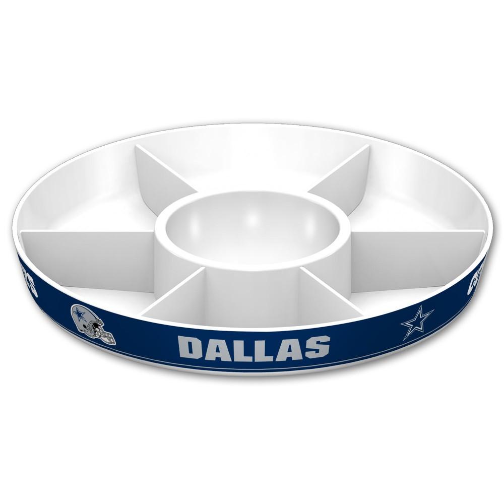 NFL Dallas Cowboys Party Platter