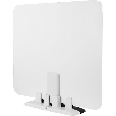 Philips Indoor HD Switch TV Antenna with 10ft Coaxial Cable Reversible Finish –Black/White