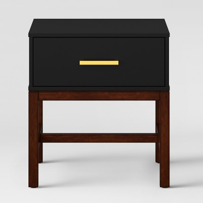Guthrie Two Tone Side Table Matte Black - Project 62™