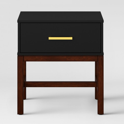 Guthrie Two Tone Side Table Matte Black Project 62