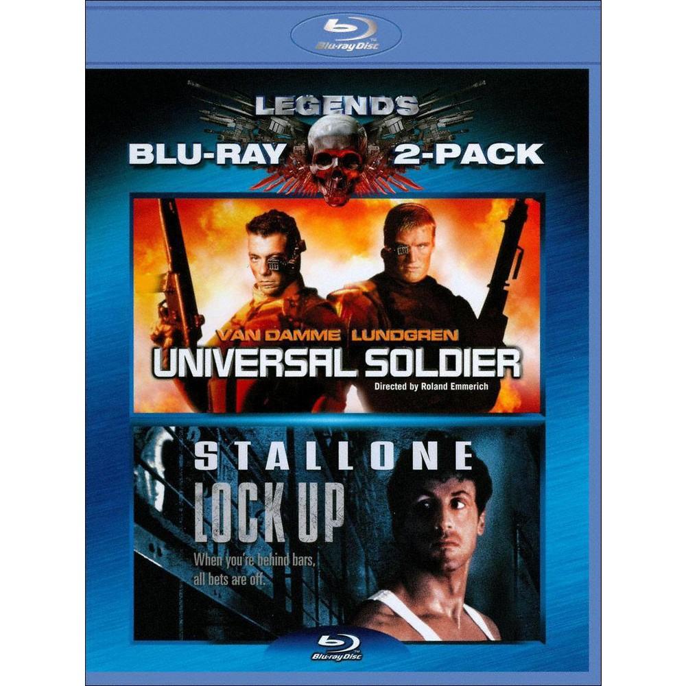 Universal Soldier Lock Up Blu Ray 2010