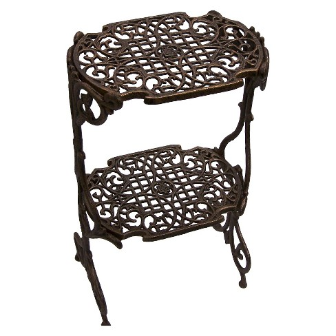 Oakland Living 2 Level Rectangle Plant Stand - Antique Bronze - image 1 of 1