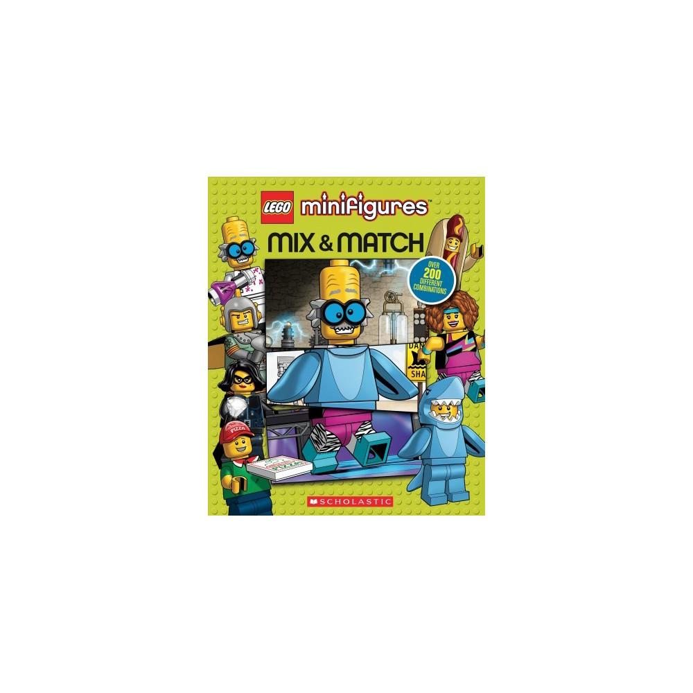 Lego Minifigures : Mix & Match - (Lego Minifigures) by Michael Petranek (Hardcover) Lego Minifigures : Mix & Match - (Lego Minifigures) by Michael Petranek (Hardcover)