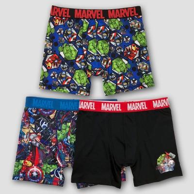 Boys' Avengers 3pk Boxer Briefs - 6