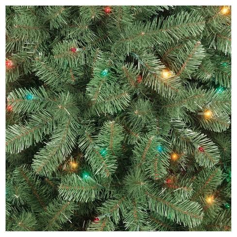 6ft prelit artificial christmas tree alberta spruce multicolored lights wondershop target