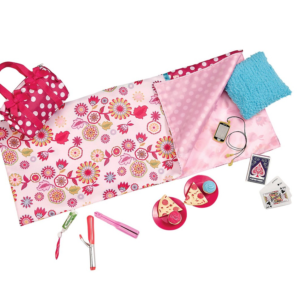 Our Generation Pizza Party Sleepover Accessory Set