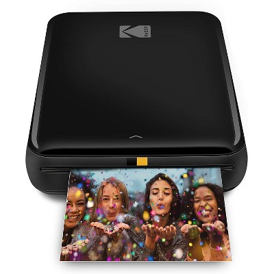 "KODAK Step Instant Printer Bluetooth/NFC Wireless Photo Printer with ZINK Technology & KODAK App for iOS & Android Prints 2x3"" Sticky-Back Photos."