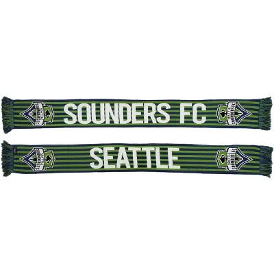 MLS Seattle Sounders Knit Stripes Scarf